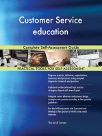Customer Service education Complete Self-Assessment Guide