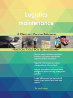 Logistics maintenance A Clear and Concise Reference