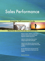 Sales Performance Complete Self-Assessment Guide