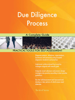 Due Diligence Process A Complete Guide