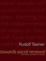 Towards Social Renewal