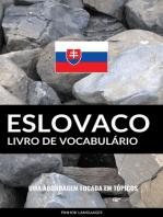 Livro de Vocabulário Eslovaco