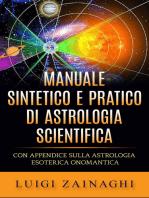 Manuale sintetico e pratico di astrologia scientifica