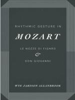 Rhythmic Gesture in Mozart