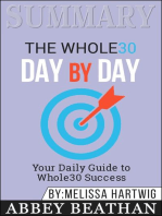 Summary of The Whole30 Day by Day