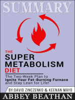 Summary of The Super Metabolism Diet