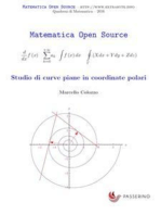 Studio di curve piane in coordinate polari