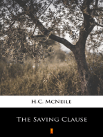 The Saving Clause