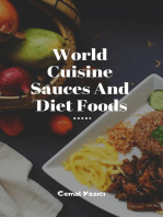 World Cuisine Sauces And Diet Foods