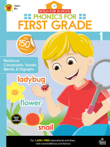 Skills for School Phonics for First Grade