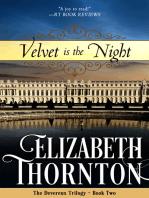 Velvet is the Night