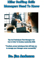 Killer Staffing Skills Managers Need To Know