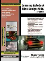 Learning Autodesk Alias Design 2016