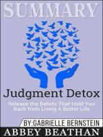 Summary of Judgment Detox