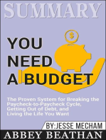 Summary of You Need a Budget
