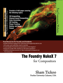 The Foundry NukeX 7 for Compositors