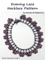 Evening Lace Necklace Pattern
