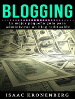 Blogging: BUSINESS & ECONOMICS / Entrepreneurship