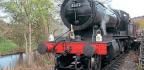Llangollen Railway Works Last Train To Temporary Corwen East Terminus