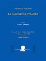 La baronessa stramba (Canto e pianoforte - Vocal Score)