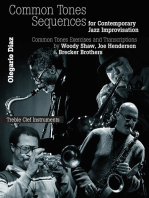 Common Sense Tone Sequences for Contemporary Jazz Improvisation