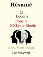 Résumé de 21 Leçons pour le XXIème Siècle de Yuval Noah Harari