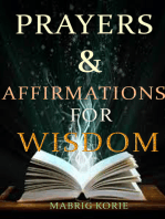 Prayers and Affirmations for Wisdom
