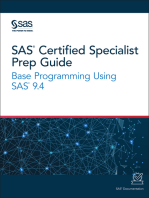 SAS Certified Specialist Prep Guide