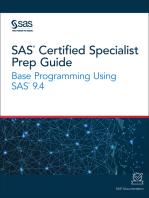 SAS Certified Specialist Prep Guide