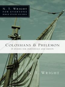 Colossians Philemon