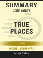 Summary of True Places