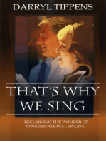 That's Why We Sing
