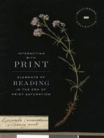 Interacting with Print