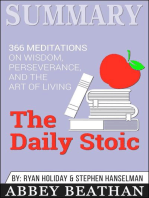 Summary of The Daily Stoic