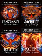 Fated Fantasy Quest Adventure Books 8-11 (Forsaken, Sacrifice, Redeem, Ascend)
