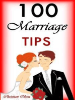 100 Marriage tips