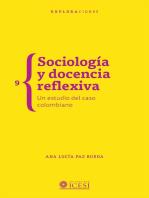 Sociología y docencia reflexiva. Un estudio del caso colombiano