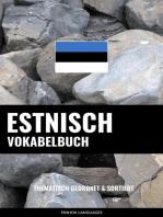 Estnisch Vokabelbuch