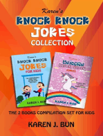 Knock Knock Jokes Collection - The 2 Books Compilation Set For Kids