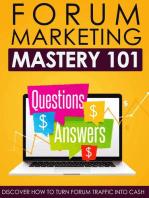 Forum Marketing Mastery 101
