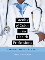 Faculty of Color in the Health Professions
