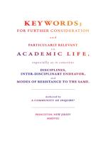 Keywords;