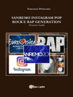 Sanremo, pop, Instagram e rock e rap generation. Ediz. hindi