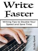 Write Faster