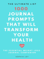 1000 Journal Prompts That Will Transform Your Health