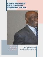 Nouveau Management Public et Nouvelle Gouvernance publique : Des paradigmes aux transformations: Gouvernance Management Public Prospective, #2