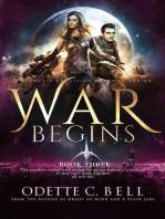 War Begins Book Three