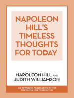 Napoleon Hill's Timeless Thoughts for Today