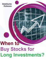 When to Buy Stocks for Long Investments?