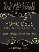 Homo Deus - Summarized for Busy People